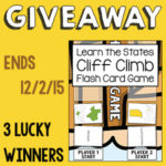 Learn the States Cliff Climb Flash Card Game Giveaway