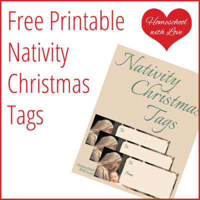 Free Printable Nativity Christmas Tags
