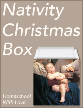 Nativity Christmas Box cover 600h