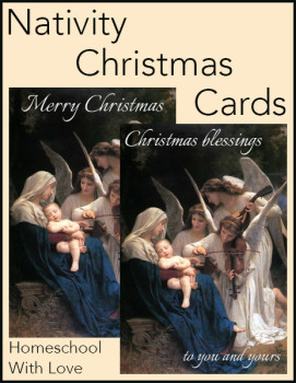 Nativity Christmas Cards cover 600h