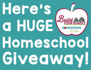 Here's a HUGE Homeschool Giveaway