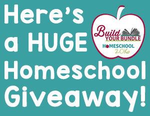 Here's a HUGE Homeschool Giveaway!