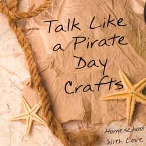 Talk Like a Pirate Day Crafts