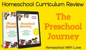 Homeschool Curriculum Review – The Preschool Journey