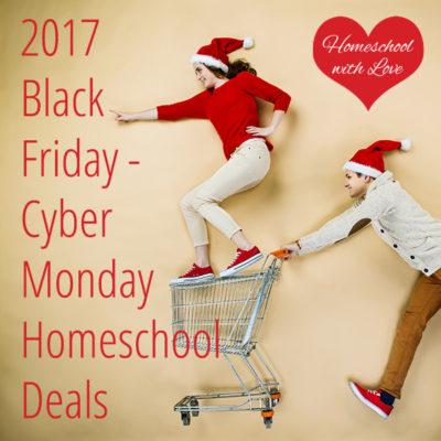 2017 Black Friday – Cyber Monday Homeschool Deals